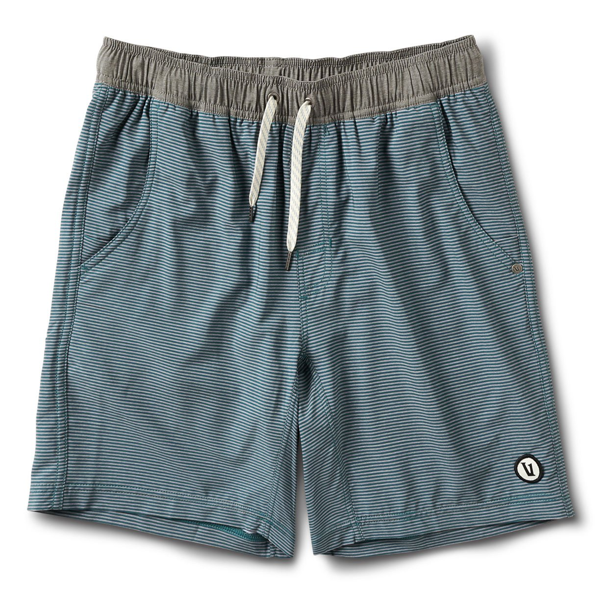 Kore Short | Palm Grey Stripe