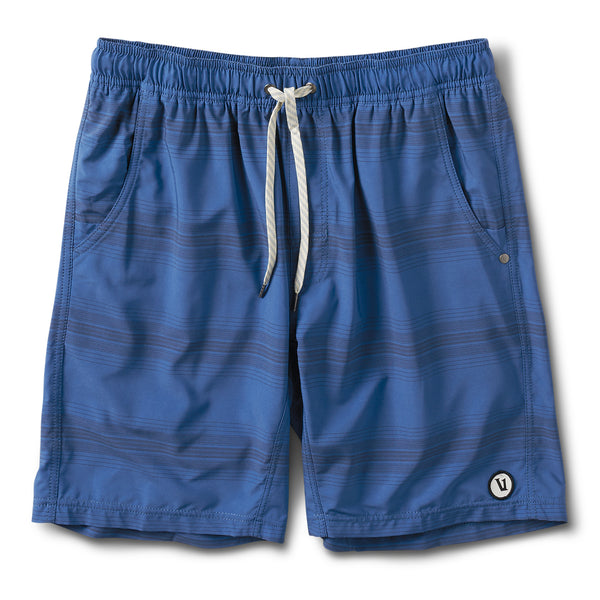 Kore Short | Sea Charcoal Stripe
