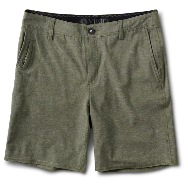 Maldive Short | Olive Textured Stripe