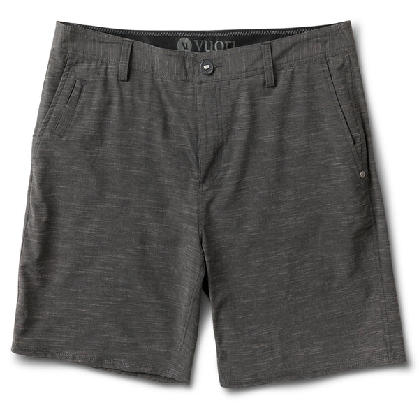 Maldive Short | Black Textured Stripe