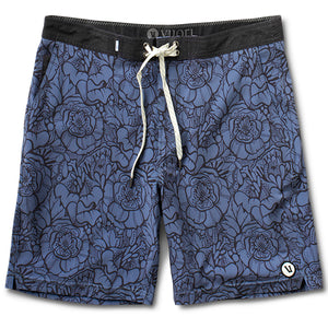 Equator Boardshort | Azure Flower