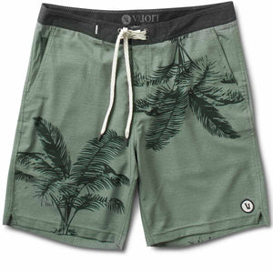 Equator Boardshort | Army Palm Frond