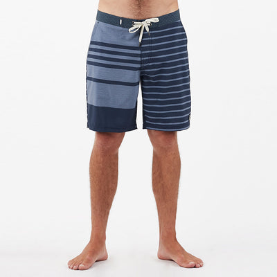 Equator Boardshort | Navy Asym Block