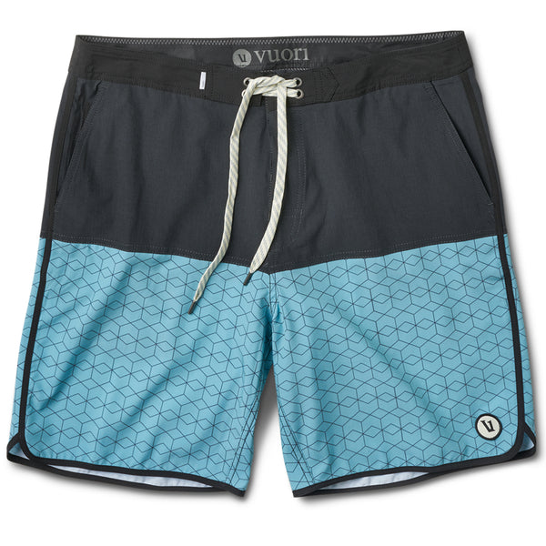 Cruise Boardshort | Glacier Hex Block