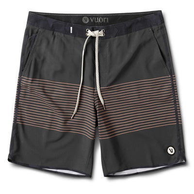Cruise Boardshort | Charcoal Acorn Stripe