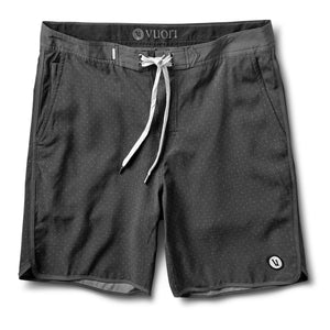 Cruise Boardshort | Charcoal Micro Dot