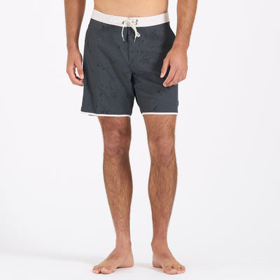 Cruise Boardshort | Charcoal Splatter