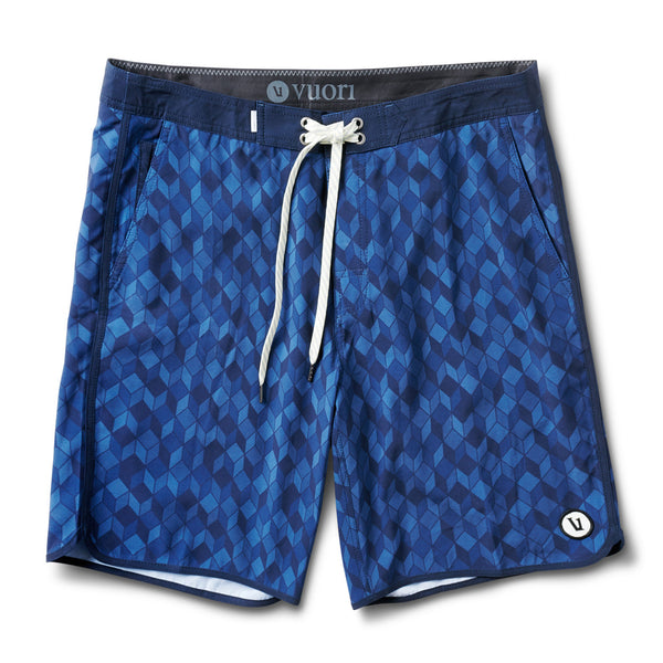 Cruise Boardshort | Ink Cube Print