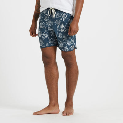 Cruise Boardshort | Indigo Floating Palm