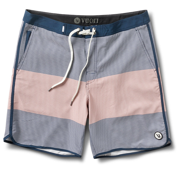 Cruise Boardshort | Indigo Wave Stripe