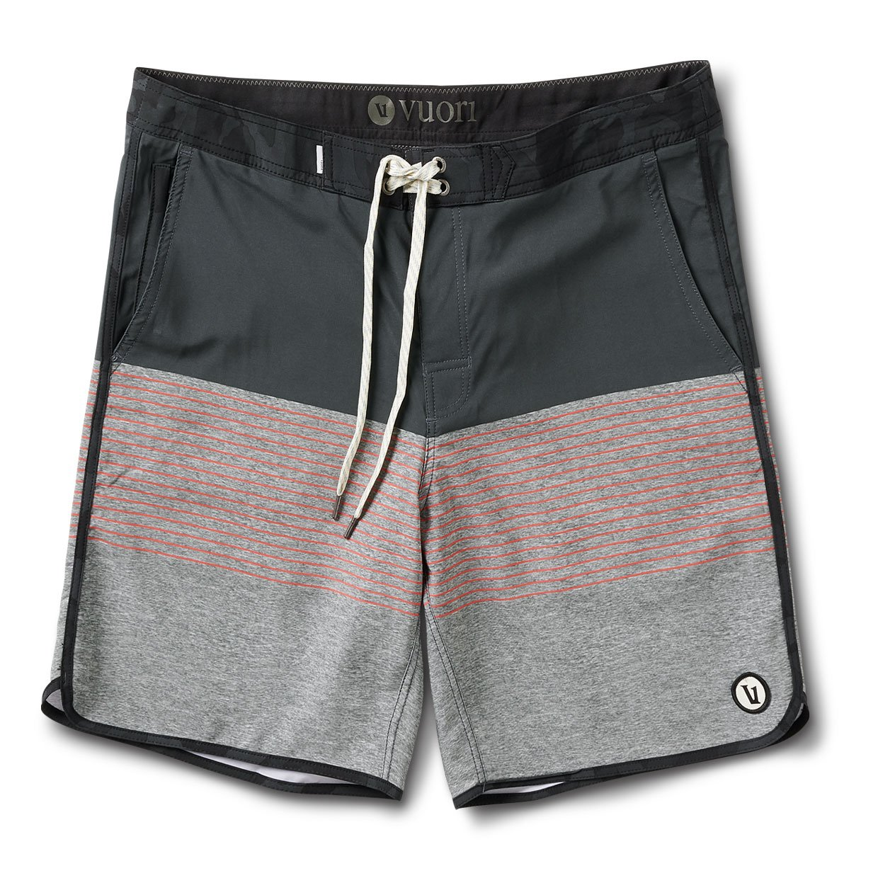 Cruise Boardshort | Melon Stripe