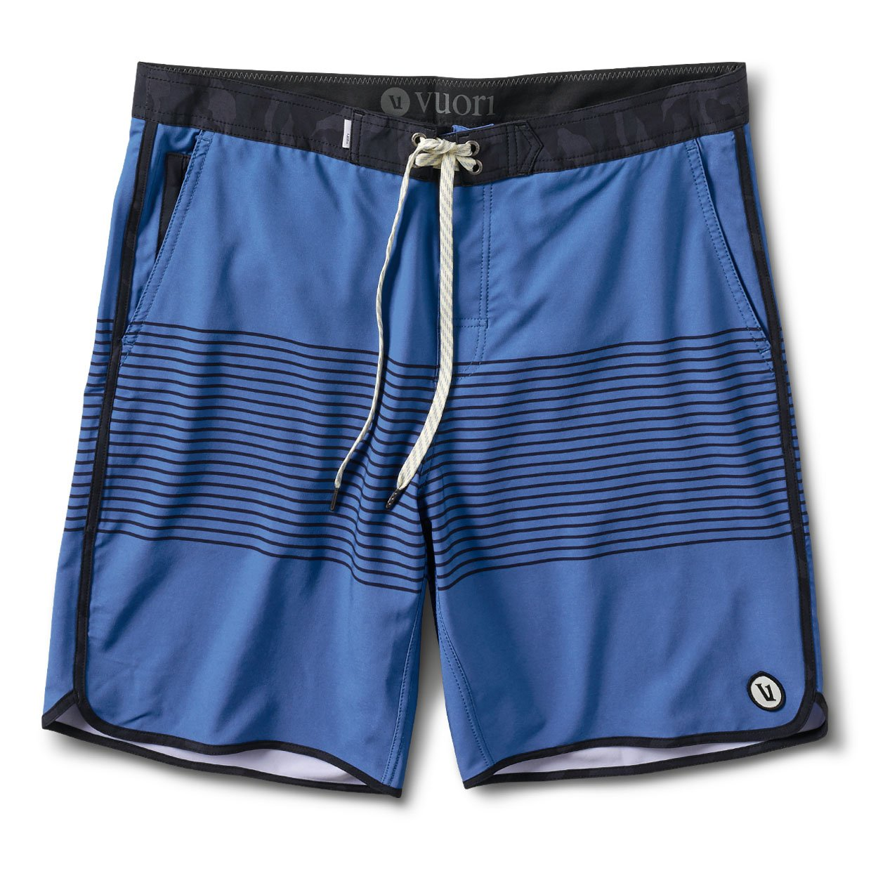 Cruise Boardshort - Sea Charcoal Stripe - Sea Charcoal Stripe 1