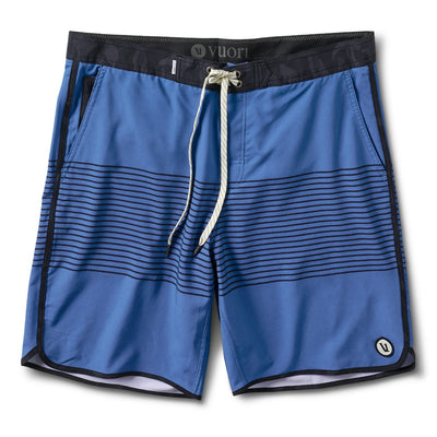 Cruise Boardshort | Sea Charcoal Stripe