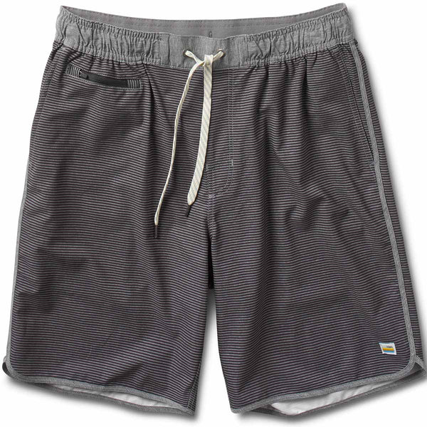 Banks Short | Black-Charcoal Stripe