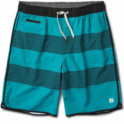 Banks Short | Tahiti Black Stripe
