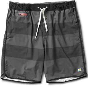 Banks Short | Charcoal Black Stripe