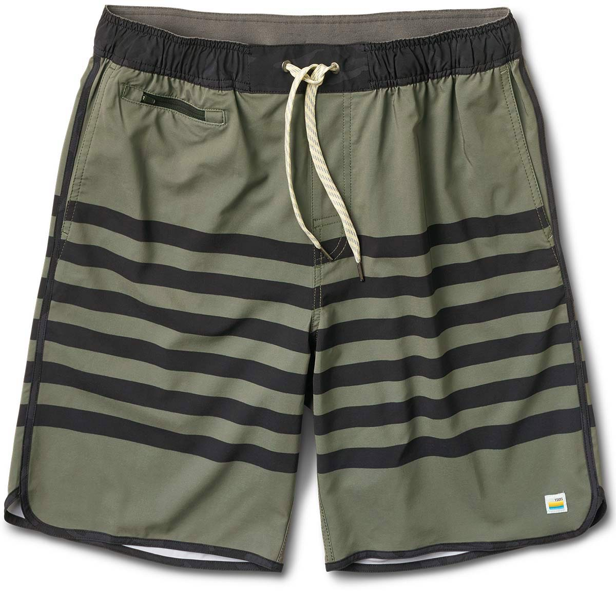 Banks Short | Army Stripe