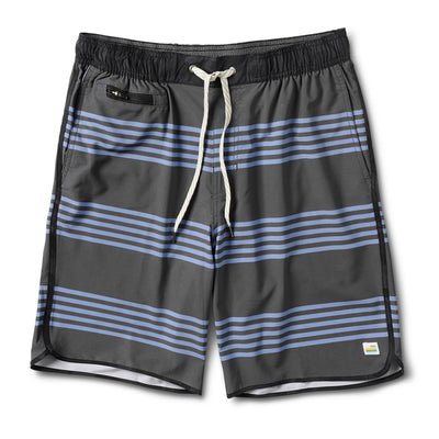 Banks Short | Charcoal Slate Stripe