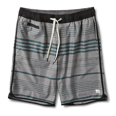 Banks Short | Grey Texture Canyon Stripe