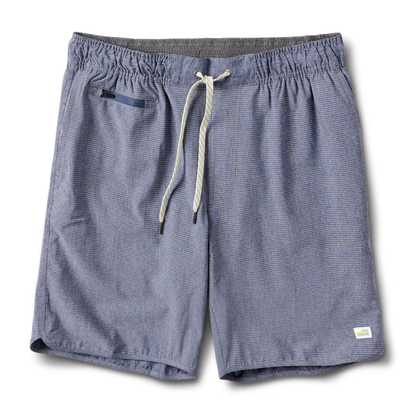 Banks Short | Navy Engineered Stripe