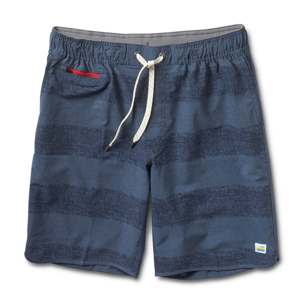 Banks Short | Navy Texture Stripe