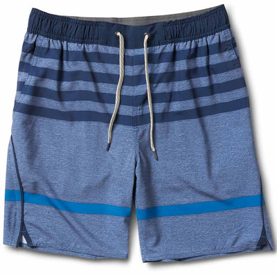Trail Short | Navy-Blue Stripe