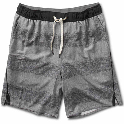 Trail Short | Grey Texture Stripe