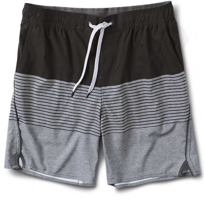 Trail Short | Espresso Stripe