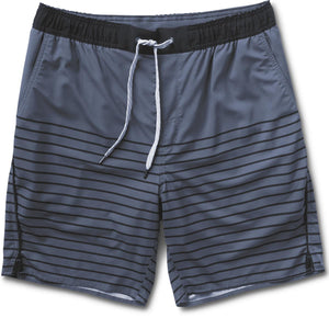 Trail Short | Azure Stripe