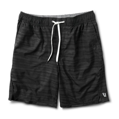 Trail Short | Black Dye Stripe