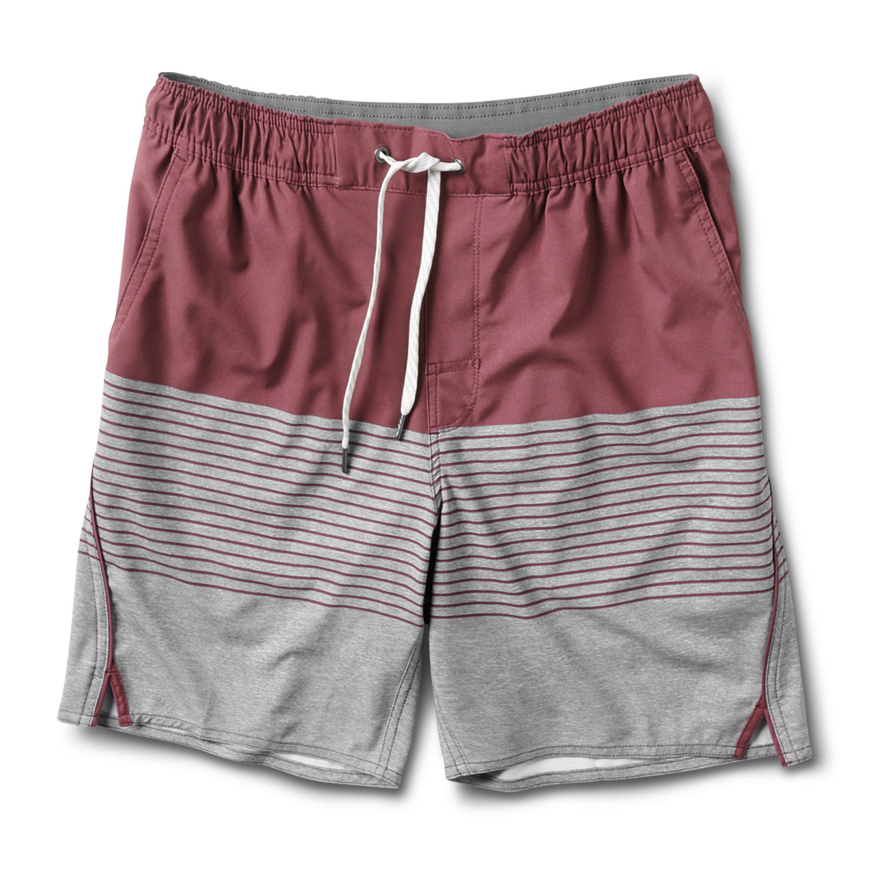 Trail Short | Fig Stripe