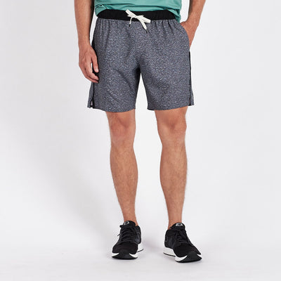 Trail Short | Heather Grey Texture