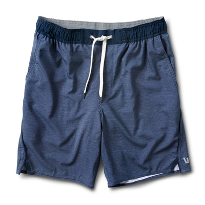 Trail Short | Navy Heather Texture