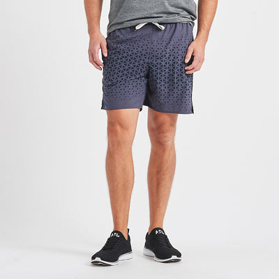 Trail Short | Ink Triangle Fade