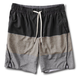 Trail Short - Saffron Stripe - Saffron Stripe 1