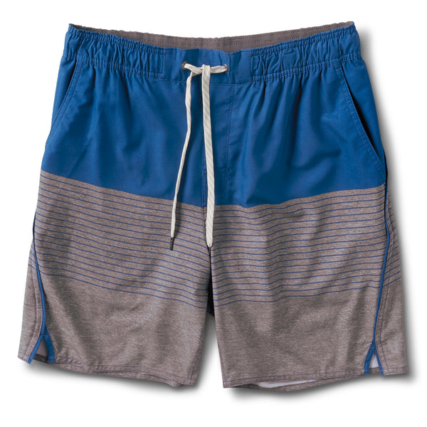 Trail Short | Sea Stripe