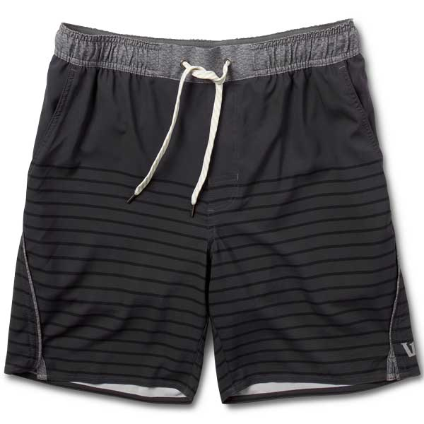 Trail Short | Charcoal Stripe