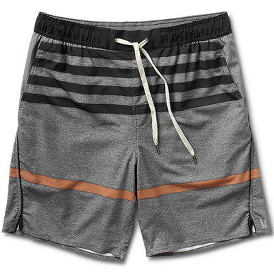 Trail Short | Grey Acorn Stripe
