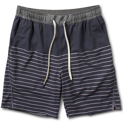 Trail Short | Navy Stripe