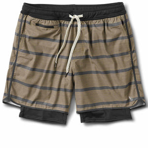 Stockton Short | Charcoal Acorn Stripe