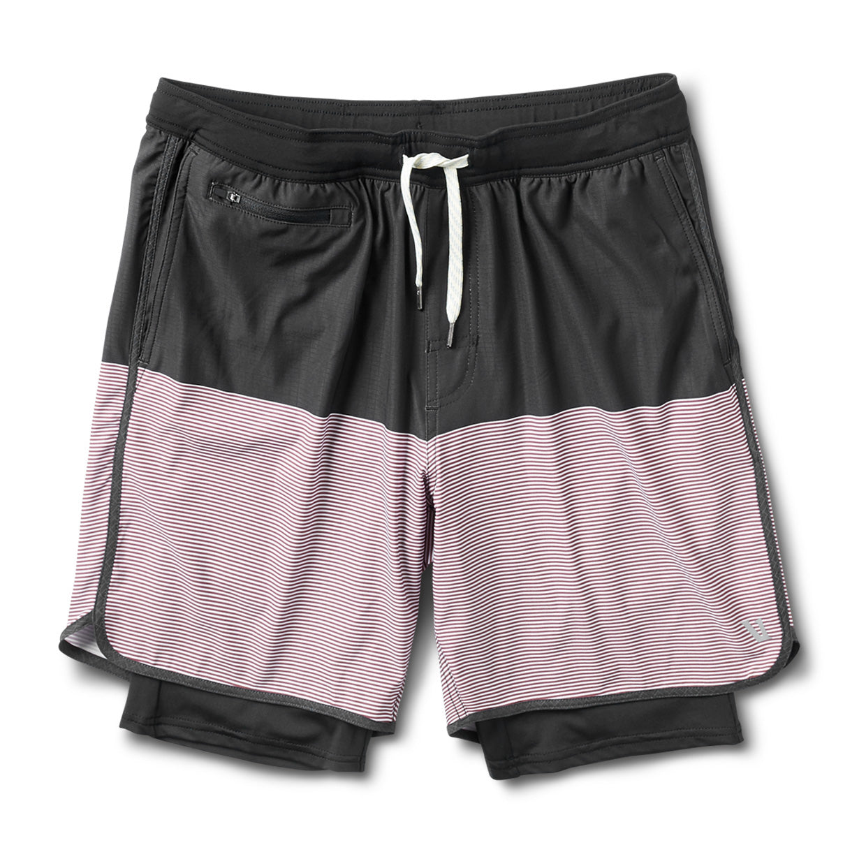 Stockton Short | Black Fig Stripe