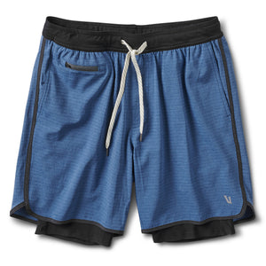 Stockton Short | Sea Linen Texture
