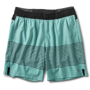 Rush Short | Aloe Black Stripe