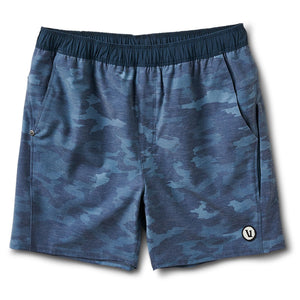 Cape Short | Indigo Watercolor Camo