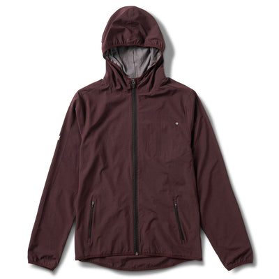 Outdoor Trainer Shell | Oxblood Texture
