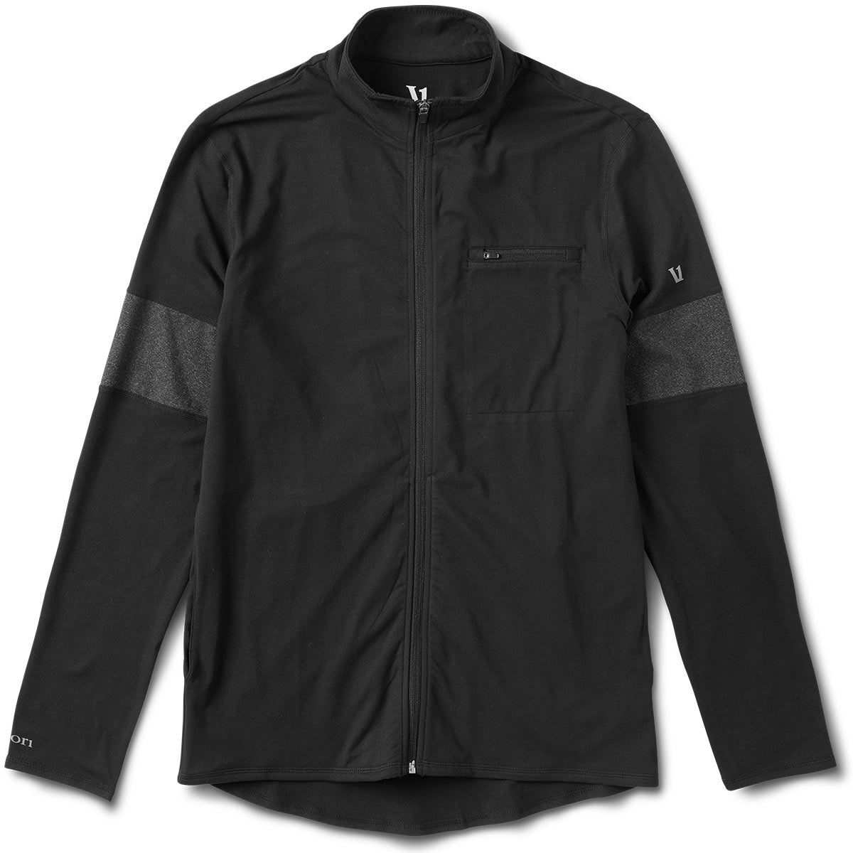 Terra Stretch Zip Up | Black