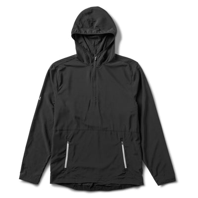Fields Packable Pullover | Black