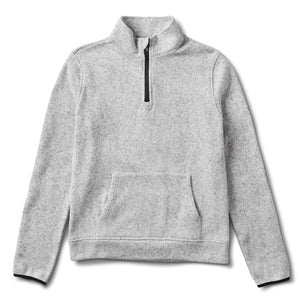 Durango Half Zip | Heather Grey