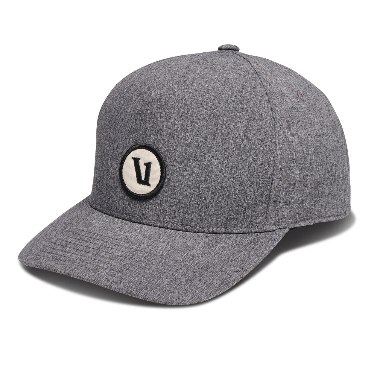 V1 Patch Performance Hat - Heather Grey - Heather Grey 1