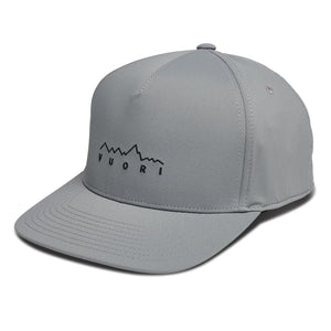 Mountain Line Performance Hat - Charcoal - Charcoal 1
